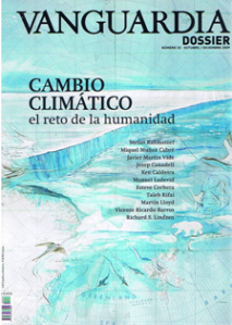 Portada del ejemplar de La Vanguardia Dossier dedicado al cambio climático
