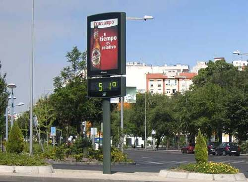 Madrid, verano de 2007