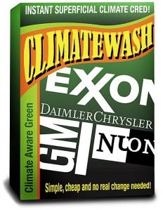 Greenwashing climático