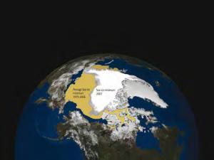 Deshielo en el Ártico