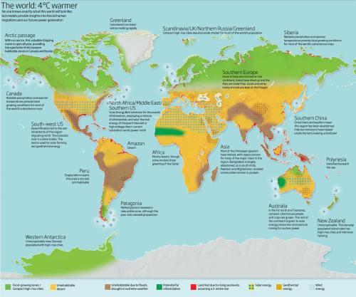 El mundo 4 ºC más caliente
