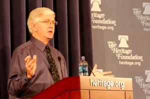 Roy Spencer en la Heritage Foundation