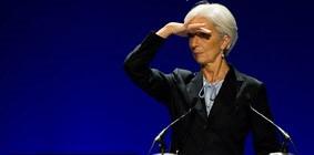 Cristine Lagarde, presidente del FMI