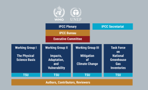 Estructura del IPCC
