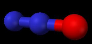 N2O molecule (Wikipedia)